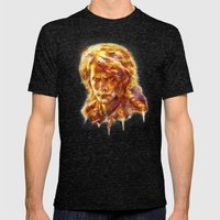 ANAKIN SKYWALKER Mens Fitted Tee Tri-Black SMALL