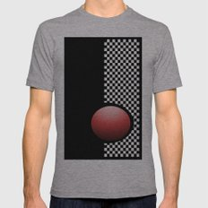 Red Point 99 Mens Fitted Tee Athletic Grey SMALL