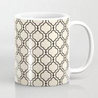 Trellis Pattern I Mug
