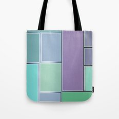 the door and the glazed windows pattern Tote Bag