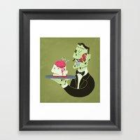 Brain Food Framed Art Print
