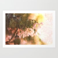 Yesterday everything was different Art Print