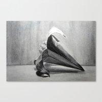 Origami Flower Canvas Print
