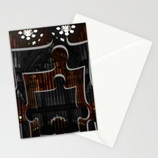 Distracting a Ghost: 1st Rendition  Stationery Cards