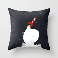 Destination Moon Throw Pillow