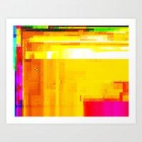 Hex VI Art Print