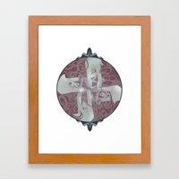 Revolver Framed Art Print