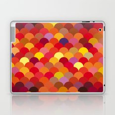 Red Scales Laptop & iPad Skin