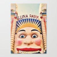 Luna Park Canvas Print