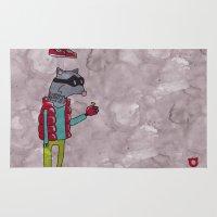 006_raccoon Rug