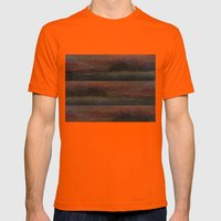 Version 1 Mens Fitted Tee Orange SMALL