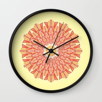 Spring Red Wall Clock