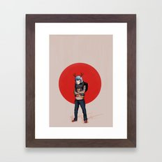 Tokyo Garden Framed Art Print