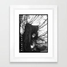 Willow 1 Framed Art Print