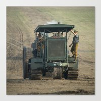 Gun Tractor  Canvas Print