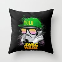 Stormtrooper Swag Throw Pillow