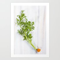 Organic Vegetable - Eate… Art Print