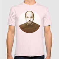 Louis Ck Mens Fitted Tee Light Pink SMALL
