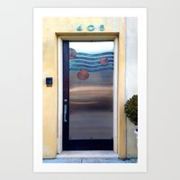 405 Sea Door Art Print