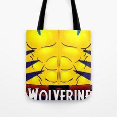 Wolverine X-Men Tote Bag