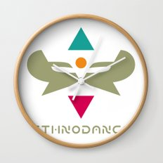Ethnodance Wall Clock