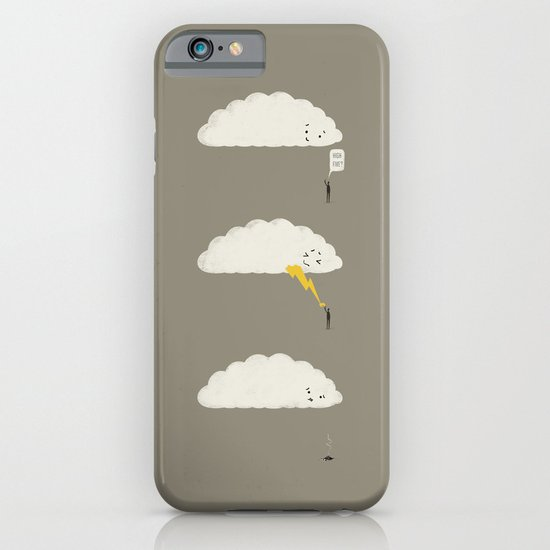 Cloud High Five iPhone & iPod Case