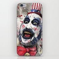 Captain Spaulding -The D… iPhone & iPod Skin