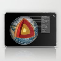 Earth - Cross Section Laptop & iPad Skin