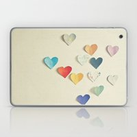 Paper Hearts Laptop & iPad Skin