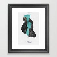 Langfoss Framed Art Print