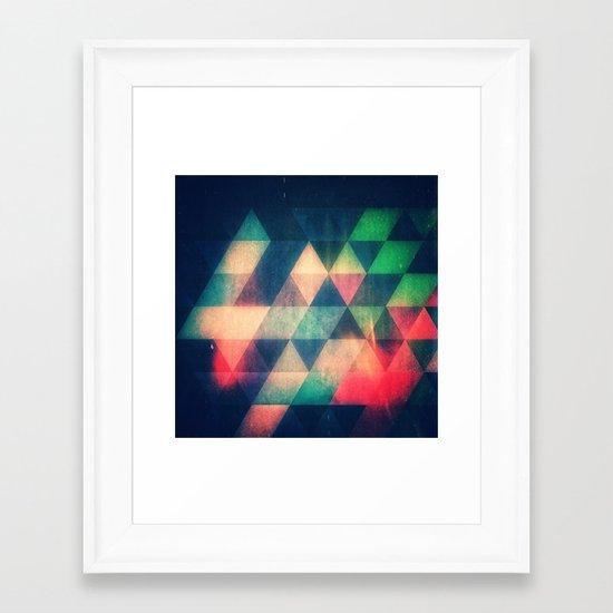 Myss Framed Art Print