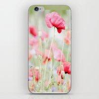 Poppy pastels iPhone & iPod Skin