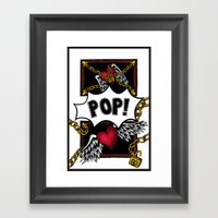 POP! Framed Art Print