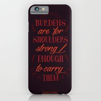 iPhone Cases featuring Gone with the Wind's Scarlet O'Hara by Nikita Gill