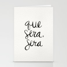 Whatever Will Be, Will B… Stationery Cards