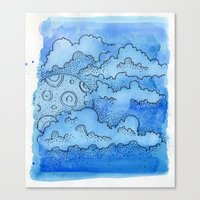 Baby Blue Dreamin Canvas Print