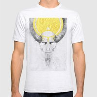 The Lamb Mens Fitted Tee Ash Grey SMALL