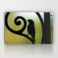 Bird on the Ironwork Laptop & iPad Skin