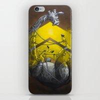 Giraffe up! iPhone & iPod Skin