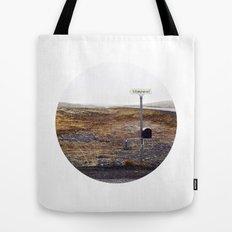 Post box, Iceland Tote Bag