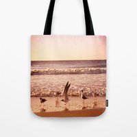 Cross The Ocean Tote Bag