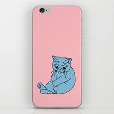 Sad Kitty, 2014. iPhone & iPod Skin