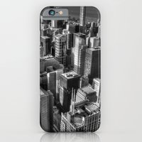 iPhone & iPod Case featuring Chicago by Claude Gariepy