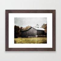 The Grey Barn Framed Art Print
