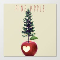 Pine Apple Canvas Print