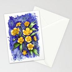 Marsh Marigolds Stationery Cards