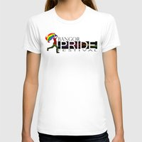 Bangor PRIDE Festival 20… Womens Fitted Tee White SMALL