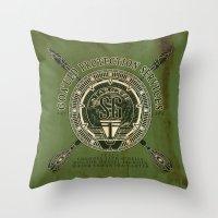 Goa'uld Protection Servi… Throw Pillow