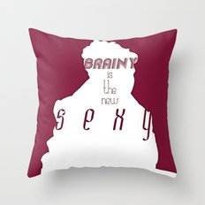 The New Sexy Throw Pillow