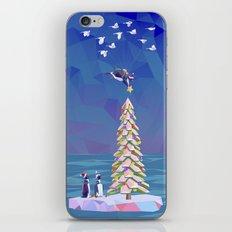 Christmas Flight iPhone & iPod Skin